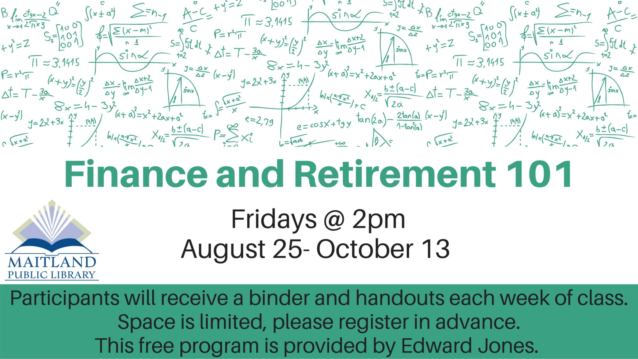 Finance and Retirement 101