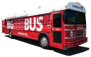 blood donation bus