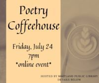 Online Poetry coffeehouse