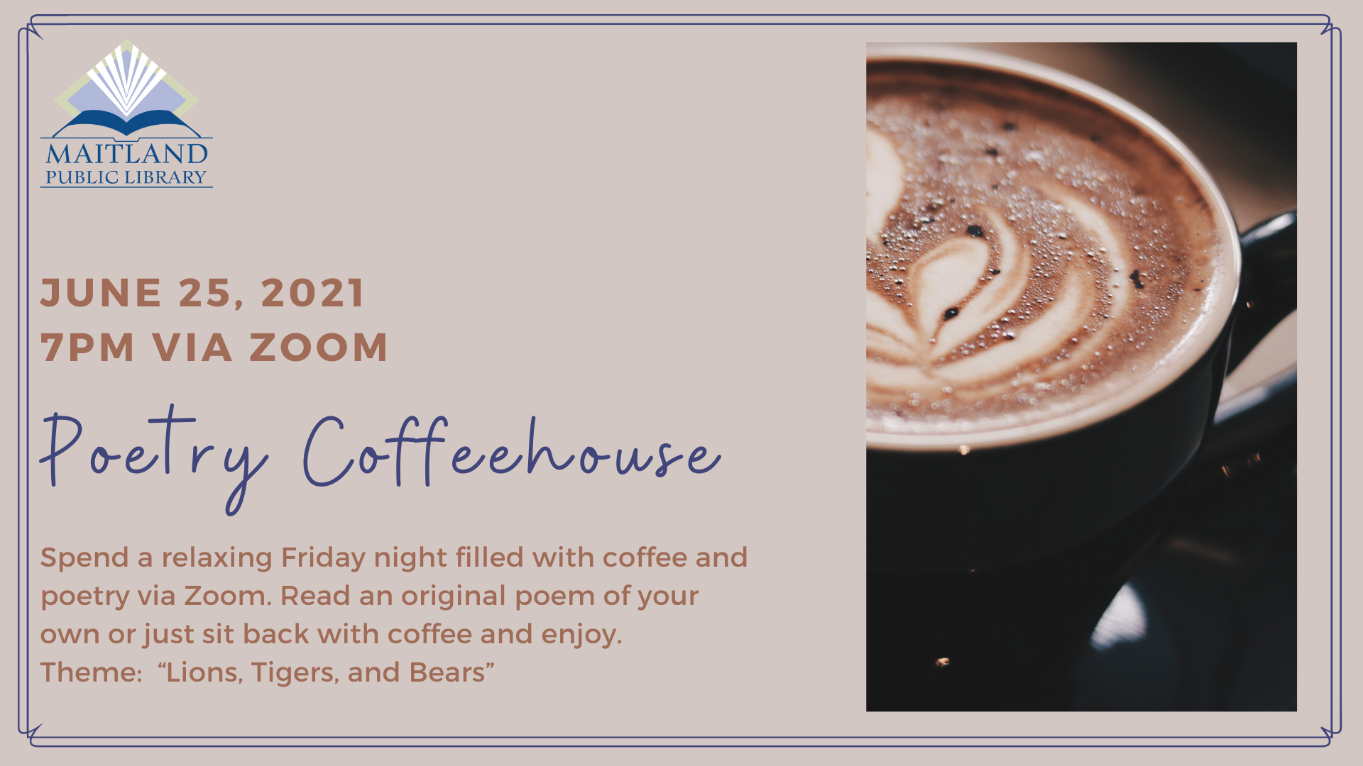 Poetry Coffeehouse